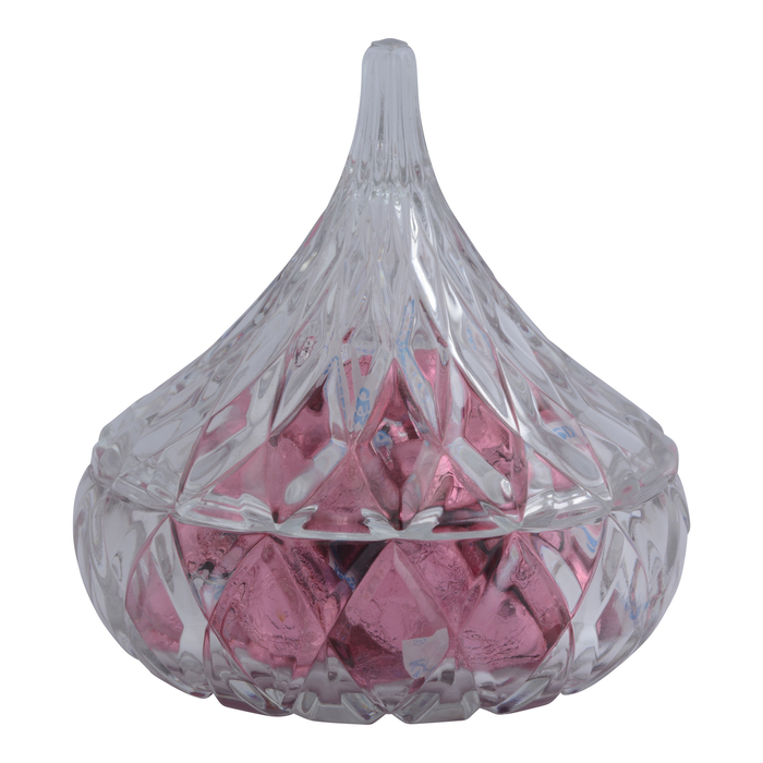 Image of KISSES Crystal Candy Dish Packaging