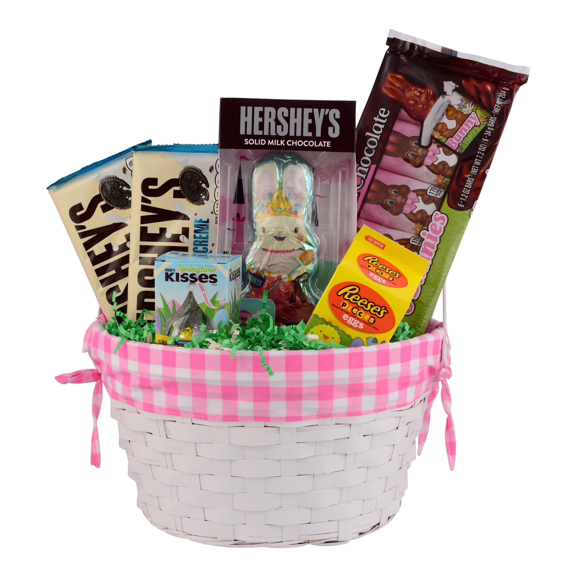 Pink Princess Easter Basket