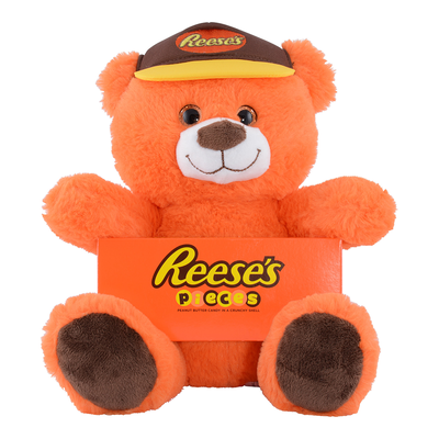 Orange REESE'S Teddy Bear