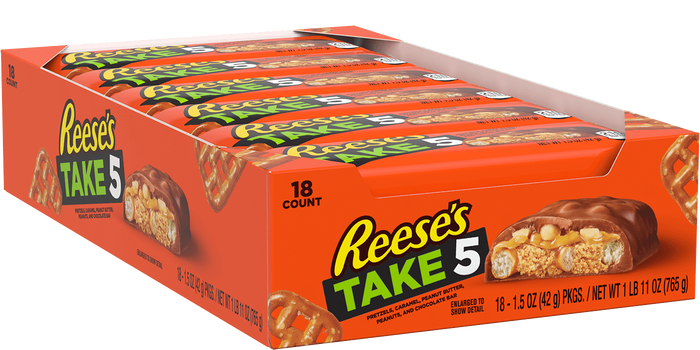Image of TAKE 5 Bar Packaging