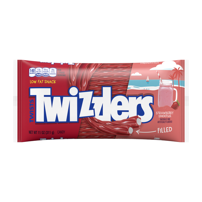 Image of TWIZZLERS Strawberry Smoothie Packaging