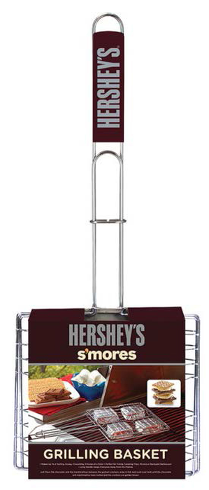 Image of HERSHEY'S S'MORES Grilling Basket Packaging