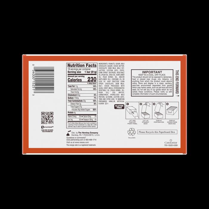 Image of REESE'S FAST BREAK Standard Bar Packaging