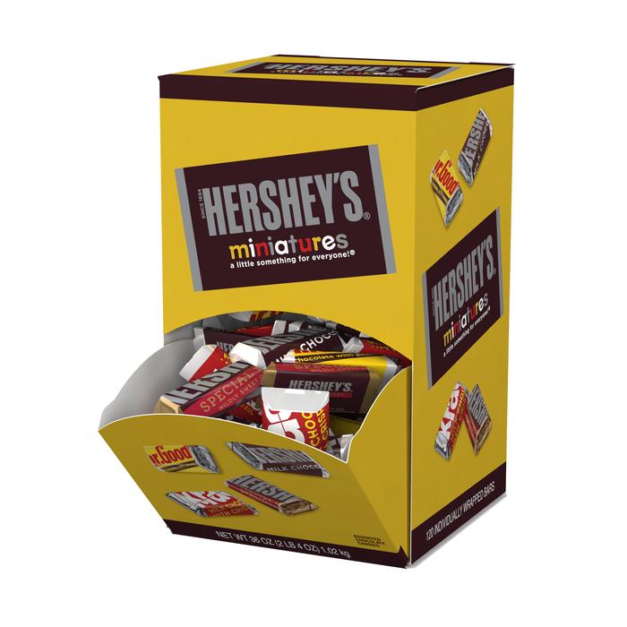 Image of HERSHEY'S Miniatures - 120 ct. Packaging