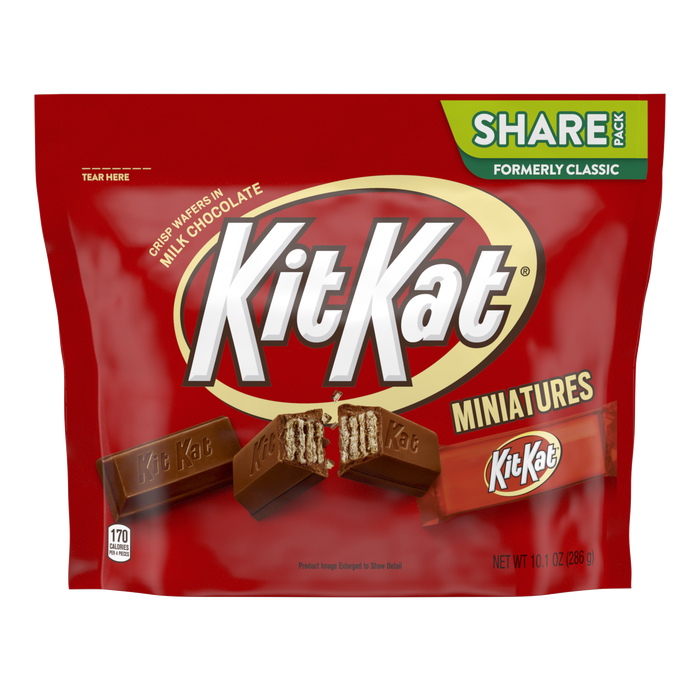 Image of KIT KAT Miniatures Bars Packaging