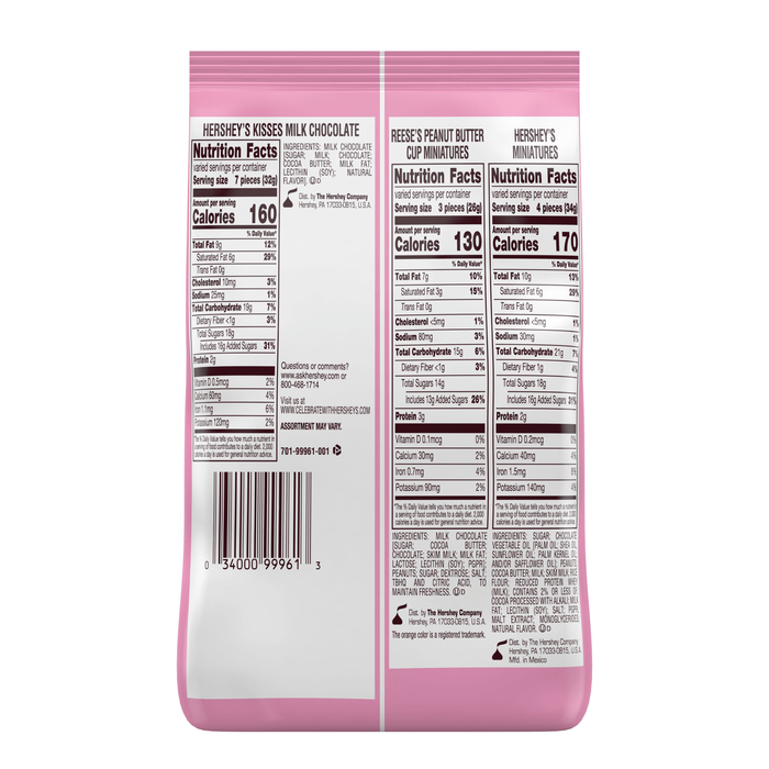Image of HERSHEY'S Cupid Mix, 25 oz. [25 oz. bag] Packaging
