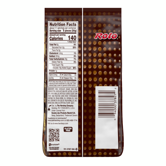 Image of ROLO® Creamy Caramels Wrapped in Rich Chocolate Candy (Bag) [12 oz. bag] Packaging