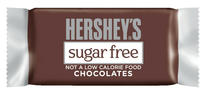 Image of HERSHEY'S Sugar Free Milk Chocolates Packaging