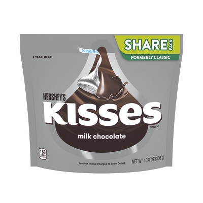 KISSES Milk Chocolates