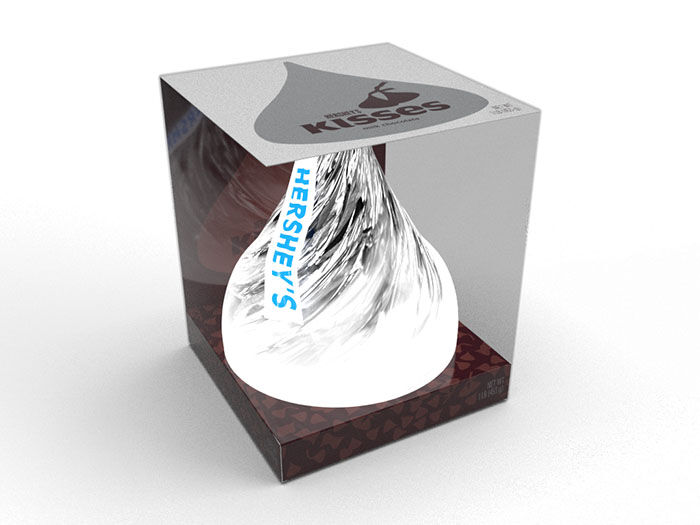 Image of KISSES Milk Chocolate THE ULTIMATE KISS Candy [1 lb. pack] Packaging