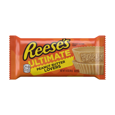REESE'S Ultimate Peanut Butter Lovers Peanut Butter Cups, 1.4 oz