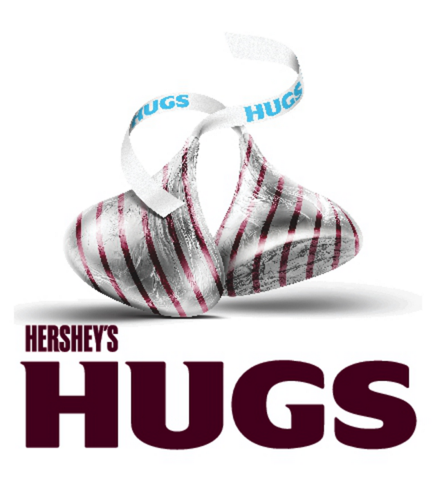 Image of HERSHEY'S HUGS Candies [12 oz. bag] Packaging