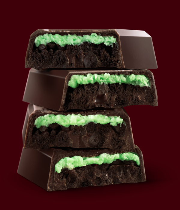 Image of HERSHEY'S COOKIE LAYER CRUNCH Bar - Mint Packaging