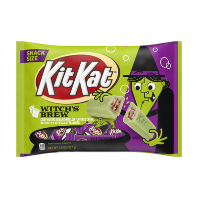 KIT KAT® Crisp Wafers in Crème with Witch's Brew Foils, 9.8 oz