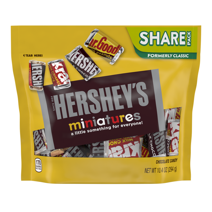 Image of HERSHEY'S Miniatures Assortment Packaging