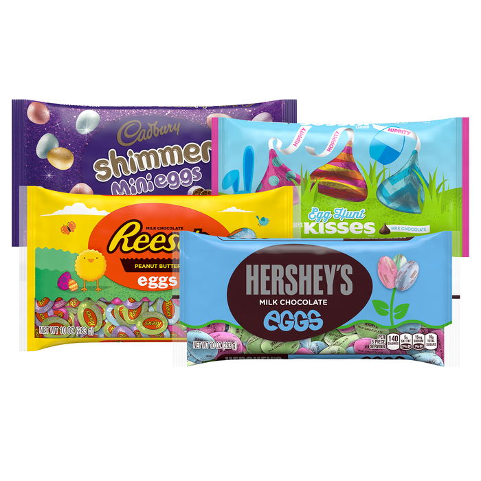 Image of HERSHEY'S Easter Candy Bundle Packaging