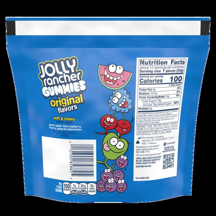 Image of JOLLY RANCHER Original Gummies Candy 13 oz. bag Packaging