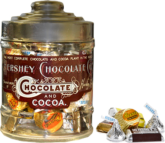 Image of HERSHEY'S Filled Letterhead Jar - 14 oz. [14 oz. jar] Packaging
