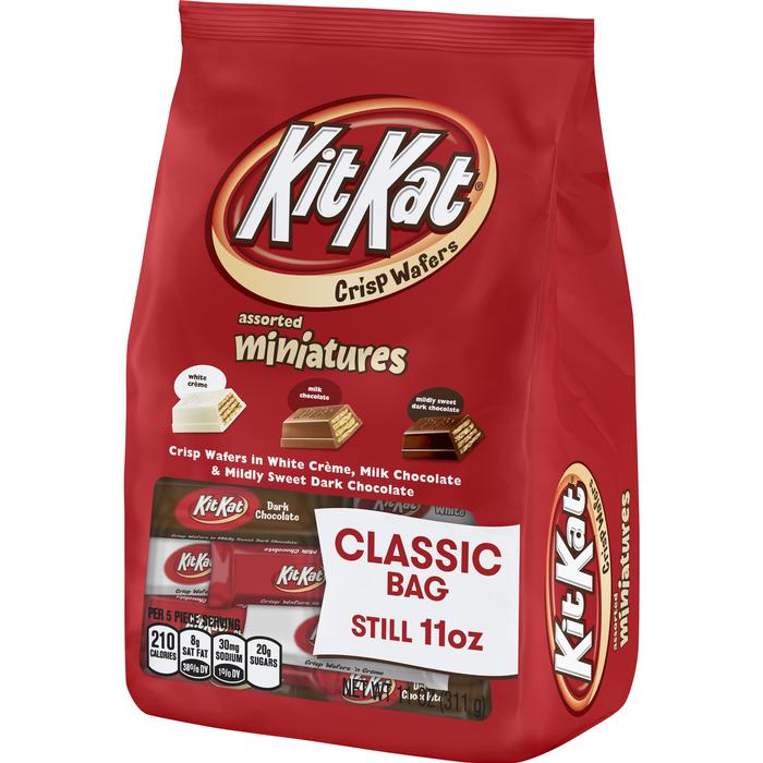 Image of KIT KAT Miniatures Assortment [11 oz. bag] Packaging
