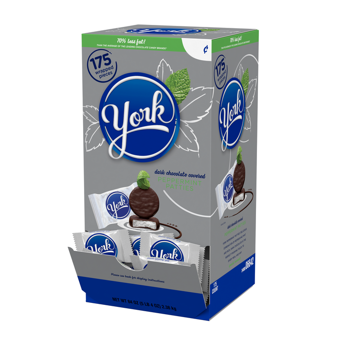 Image of YORK Peppermint Patties - 175 ct. Packaging