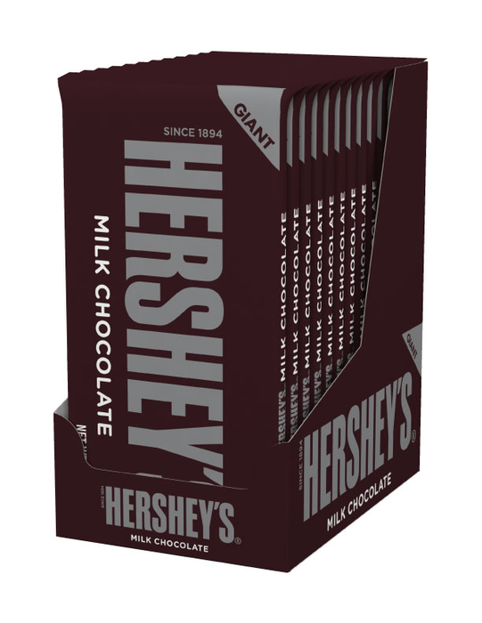 Image of HERSHEY'S Milk Chocolate Giant (7 oz.) Bar Packaging