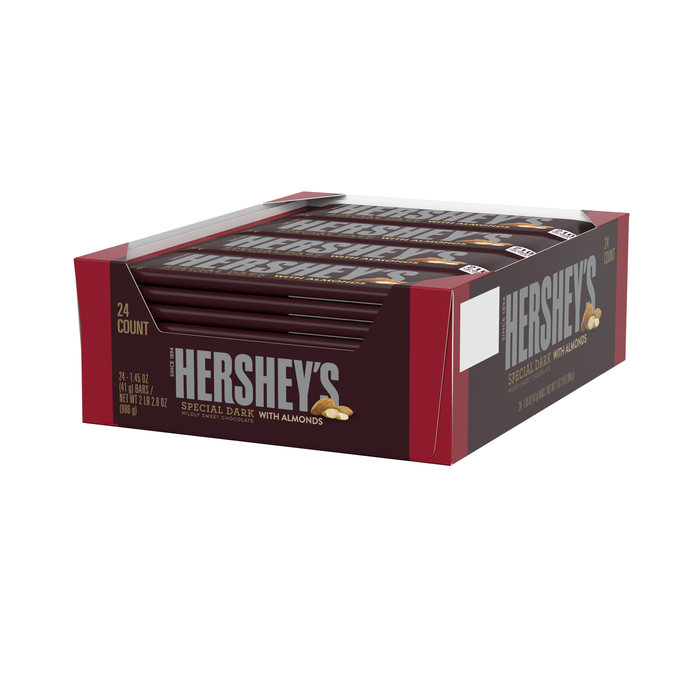 Image of HERSHEY'S SPECIAL DARK with Almonds Standard Bar Packaging