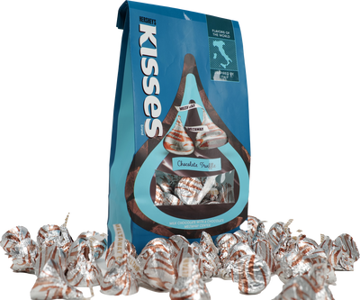 HERSHEY'S KISSES Flavors of the World Truffle Candy, 10 oz.