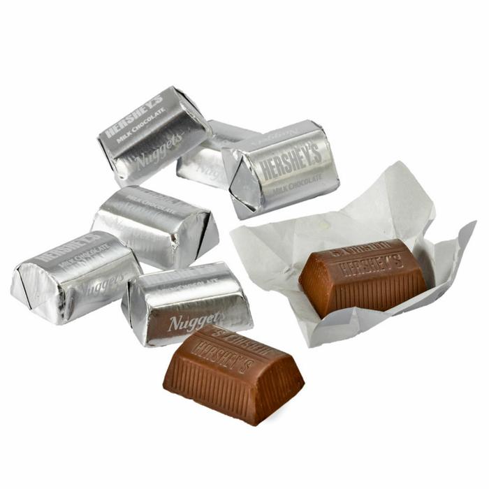 Image of HERSHEY'S NUGGETS Milk Chocolate [10.8 oz. bag] Packaging