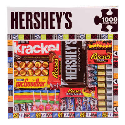 HERSHEY'S Candy Matrix Puzzle – 1000 Pieces