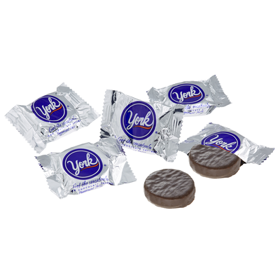 YORK Peppermint Patties Miniatures - 25 lbs.