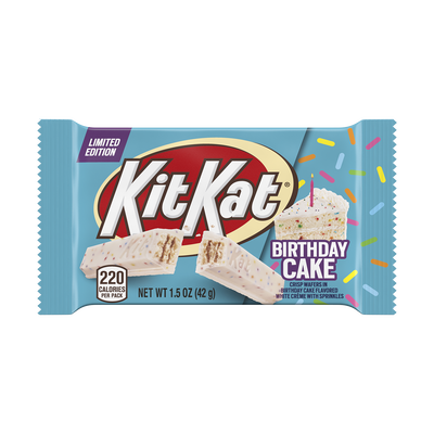 KIT KAT® Birthday Cake Standard Bar, 1.5 oz