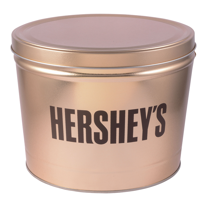 Image of HERSHEY'S Gold Tin, 11 lbs., 11 lbs. tin Packaging