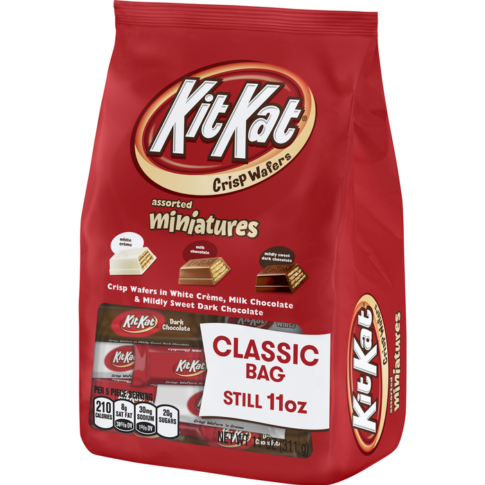 Image of KIT KAT Miniatures Assortment [11 oz. bag] Packaging