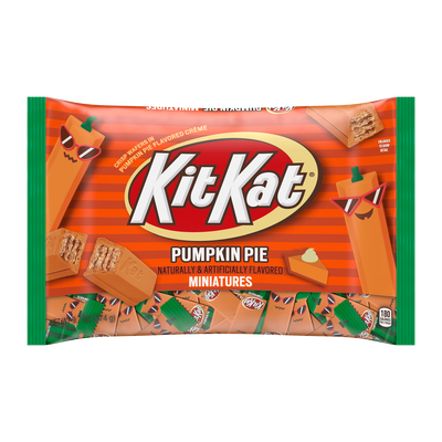 KIT KAT® Pumpkin Pie Miniatures, 9.7 oz bag