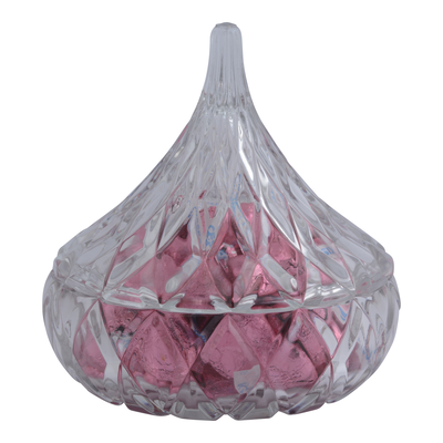 KISSES Crystal Candy Dish