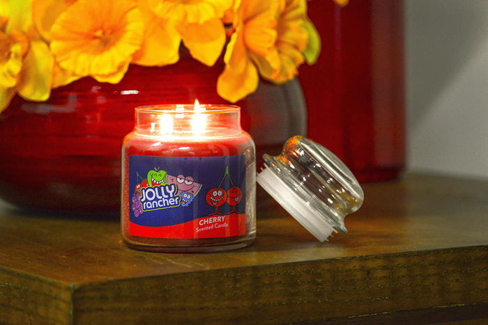 Image of JOLLY RANCHER Cherry Scented Candles [1 candle] Packaging