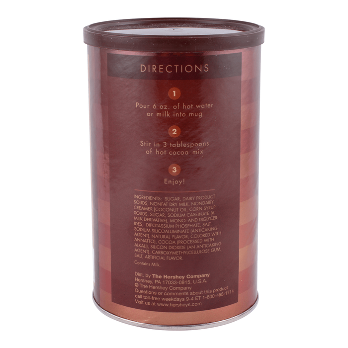 Image of HERSHEY'S Hot Cocoa Canister [1 canister] Packaging