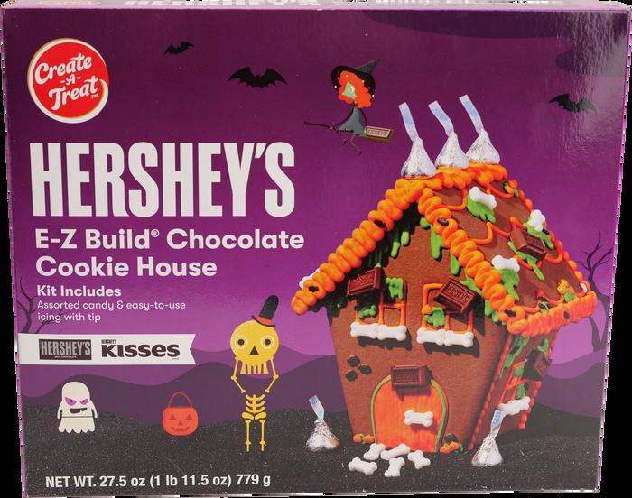 Image of HERSHEY'S Halloween Cookie House Packaging