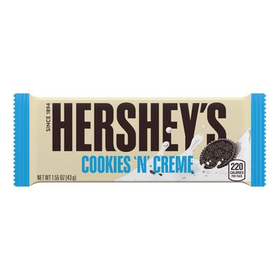 HERSHEY'S COOKIES 'N' CREME Standard Bar (36 ct.)