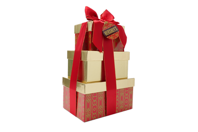 HERSHEY'S Three-Box Holiday Gift Tower