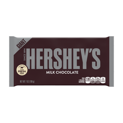 HERSHEY'S Milk Chocolate Giant (7 oz.) Bar