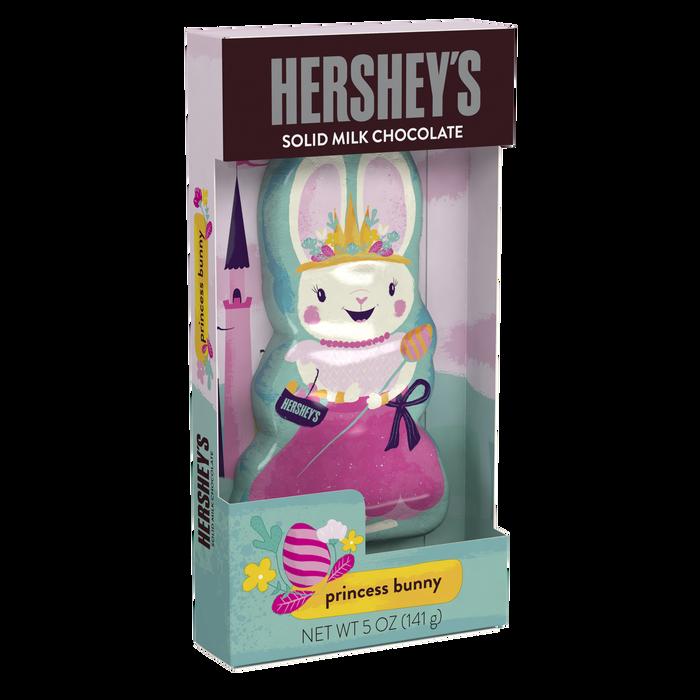 Image of HERSHEY'S Milk Chocolate Princess Bunny, 5 oz. [1 pack] Packaging