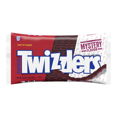 TWIZZLERS Twists Mystery Flavor Candy, 16 oz. bag