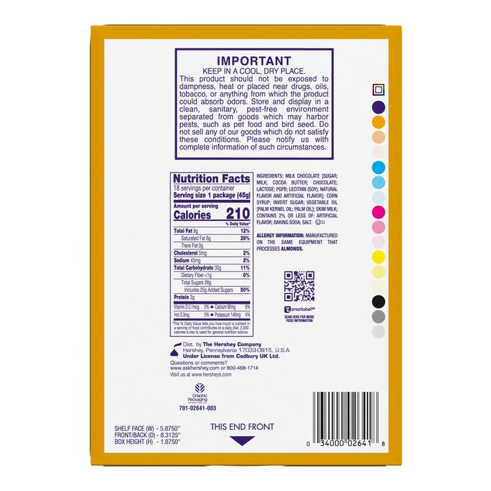 Image of CADBURY CARAMELLO Standard Bar Packaging