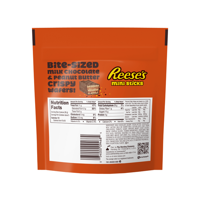 Image of REESE'S STICKS Minis Packaging