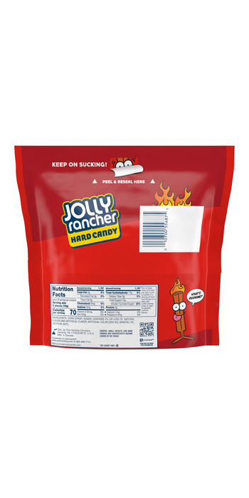 Image of JOLLY RANCHER Cinnamon Fire Candy 13 oz. pouch Packaging