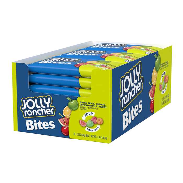 Image of JOLLY RANCHER Bites Sour Chewy Candy Packaging