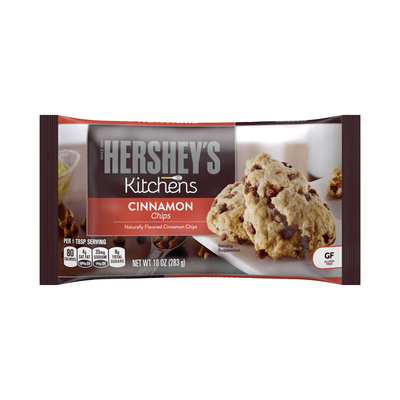 HERSHEY'S Cinnamon Baking Chips - 10 oz. [10 oz. bag]