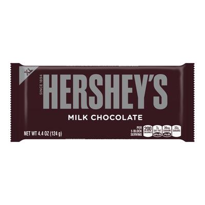HERSHEY'S Milk Chocolate Extra Large (4.4 oz.) Bar