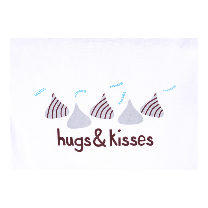 Image of HERSHEY'S HUGS & KISSES Bib [1 bib] Packaging